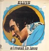 LP - Elvis Presley - Almost In Love - Hollywood Pressing