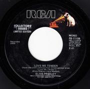 7inch Vinyl Single - Elvis Presley - Any Way You want Me, Love Me Tender