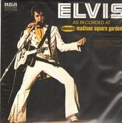 Double LP - Elvis Presley - As Recorded At Madison Square Garden - 180 GRAM VINYL / REMASTERED