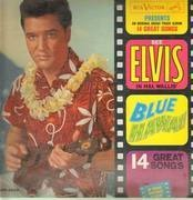 LP - Elvis Presley - Blue Hawaii - Mono USA 1962