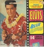 LP - Elvis Presley - Blue Hawaii - Original US mono