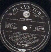 LP - Elvis Presley - Blue Hawaii - UK MONO