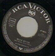 7'' - Elvis Presley - Blue River, You ll Be Gone - german original