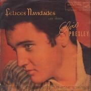 LP - Elvis Presley Con The Jordanaires - Felices Navidades Les Desea Elvis Presley - Rare Chilean Pressing