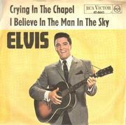 7inch Vinyl Single - Elvis Presley - Crying In The Chapel - RCA Victor
