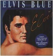 LP - Elvis Presley - Elvis Blue - w POSTER, BLUE VINYL