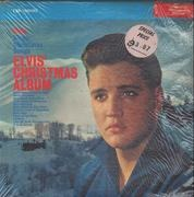 LP - Elvis Presley - Elvis' Christmas Album - RED STICKER / MATRIX VARIATION