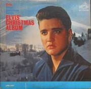LP - Elvis Presley - Elvis' Christmas Album (1957) - USA MONO