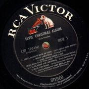 LP - Elvis Presley - Elvis' Christmas Album (1957) - US STEREO