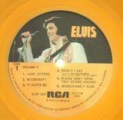 LP - Elvis Presley - Elvis' Gold Records Volume 4 - GOLD VINYL