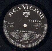 LP - Elvis Presley - Elvis' Golden Records Volume 1 - BLACK LABEL