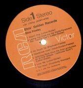 LP - Elvis Presley - Elvis' Golden Records Volume 1 - ORANGE LABELS