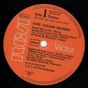 LP - Elvis Presley - Elvis' Golden Records Volume 1