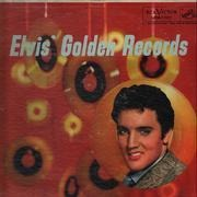 LP - Elvis Presley - Elvis' Golden Records Volume 1 - US MONO BLUE LETTERS
