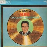 LP - Elvis Presley - Elvis' Golden Records Volume 3 - ITALIAN PRESSING