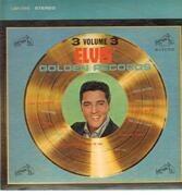 LP - Elvis Presley - Elvis' Golden Records Volume 3 - USA WHITE TOP STEREO