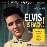 LP - Elvis Presley - Elvis is back!