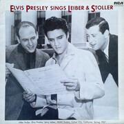 LP - Elvis Presley - Elvis Presley Sings Leiber & Stoller