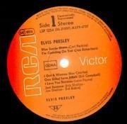 LP - Elvis Presley - Elvis Presley, Same, Debut (1st Album)