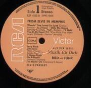 LP - Elvis Presley - From Elvis in Memphis - BILD UND FUNK, GERMAN ORIGINAL
