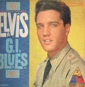 LP - Elvis Presley - G.I. Blues - USA MONO