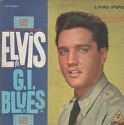 LP - Elvis Presley - G.I. Blues - US STEREO