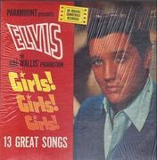 LP - Elvis Presley - Girls! Girls! Girls! - + CALENDAR!
