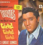 LP - Elvis Presley - Girls! Girls! Girls! - 2nd German Edition