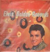 LP - Elvis Presley - Elvis' Golden Records Volume 1 - TAN LABELS