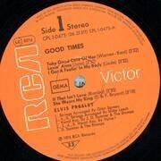 LP - Elvis Presley - Good Times