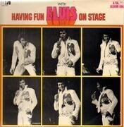 LP - Elvis Presley - Having Fun With Elvis On Stage - UK MONO
