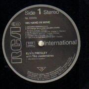 LP - Elvis Presley - His Hand in Mine
