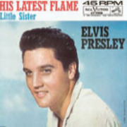 CD Single - ELVIS PRESLEY - HIS LATEST FLAME