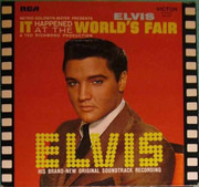 LP - Elvis Presley - It Happened At The World's Fair - France
