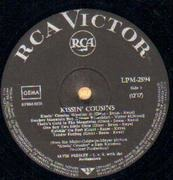 LP - Elvis Presley - Kissin' Cousins - GERMAN ORIGINAL, BLACK LABEL
