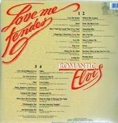 Double LP - Elvis Presley - Love Me Tender - Romantic Elvis - POSTER