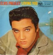 10'' - Elvis Presley - Loving You - Orig UK Black RCA