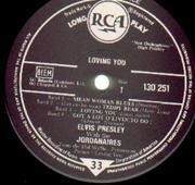 10'' - Elvis Presley - Loving You