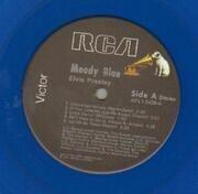 LP - Elvis Presley - Moody Blue - BLUE VINYL
