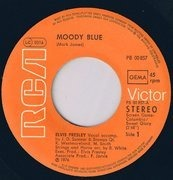 7inch Vinyl Single - Elvis Presley - Moody Blue