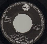 7inch Vinyl Single - Elvis Presley - O Sole Mio - Original German, Picture Sleeve