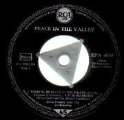 7'' - Elvis Presley - Peace In The Valley - S5 GERMAN EP