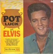 LP - Elvis Presley - Pot Luck - UK Original Mono