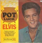 LP - Elvis Presley - Pot Luck - UK Original Mono