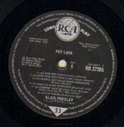 LP - Elvis Presley - Pot Luck - UK ORIGINAL