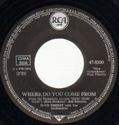 7inch Vinyl Single - Elvis Presley - Return To Sender / Where Do You Come From - S7