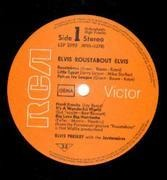 LP - Elvis Presley - Roustabout - RIGID VINYL