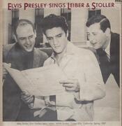 LP - Elvis Presley - Sings Leiber & Stoller - MONO