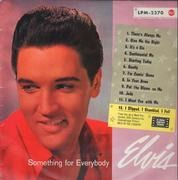 LP - Elvis Presley - Something For Everybody - Silver Spot RCA LABEL  / BIEM