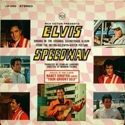 LP - Elvis Presley - Speedway - RARE ORIGINAL, BLACK LABEL